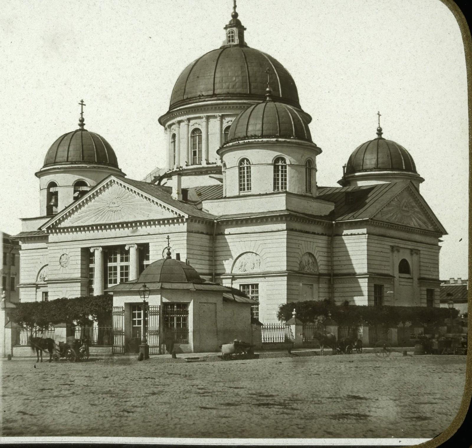 Знаменская церковь. 1850-е