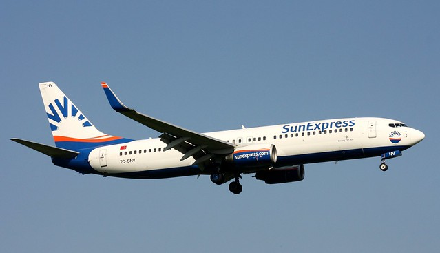 Sun Express, TC-SNV,MSN 28072,Boeing 737-86J, 21.08.2015,HAM-EDDH, Hamburg
