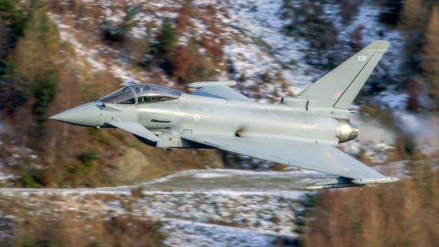 41 Squadron Typhoon LFA17