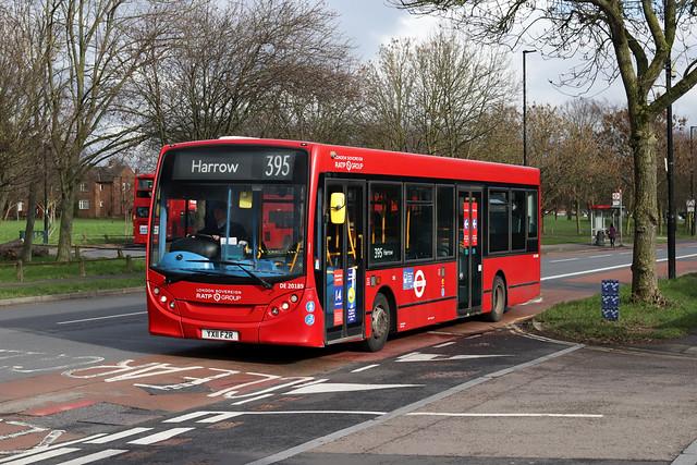 Route 395, London Sovereign, DE20189, YX11FZR