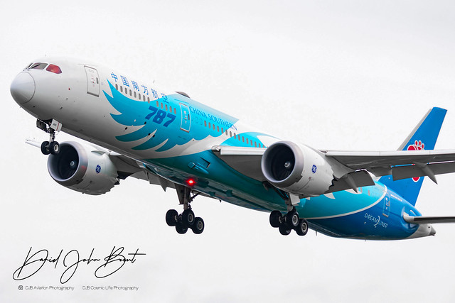China Southern Airlines • Boeing 787 Dreamliner • B-1243