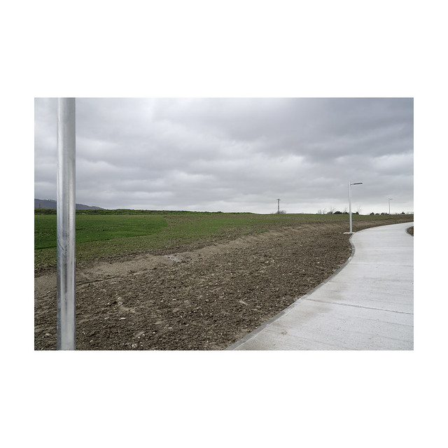 The new pedestrian path. Orcoyen.