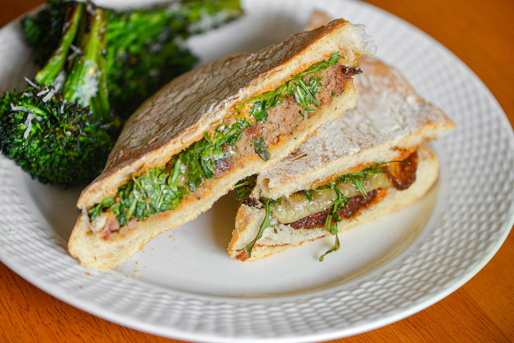 Grilled Meatloaf Paninis