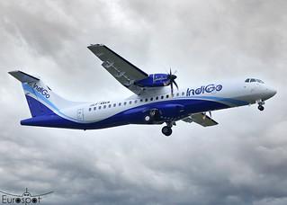 F-WWEW / VT-IYS ATR72-600 Indigo * Toulouse Blagnac 2021 *
