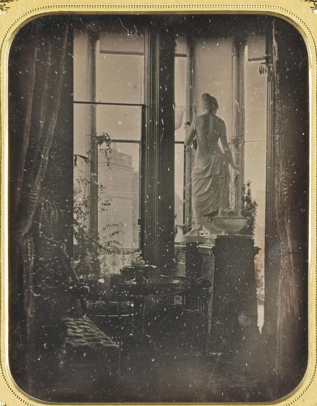 Интерьер петербургской гостиной. 1850-е