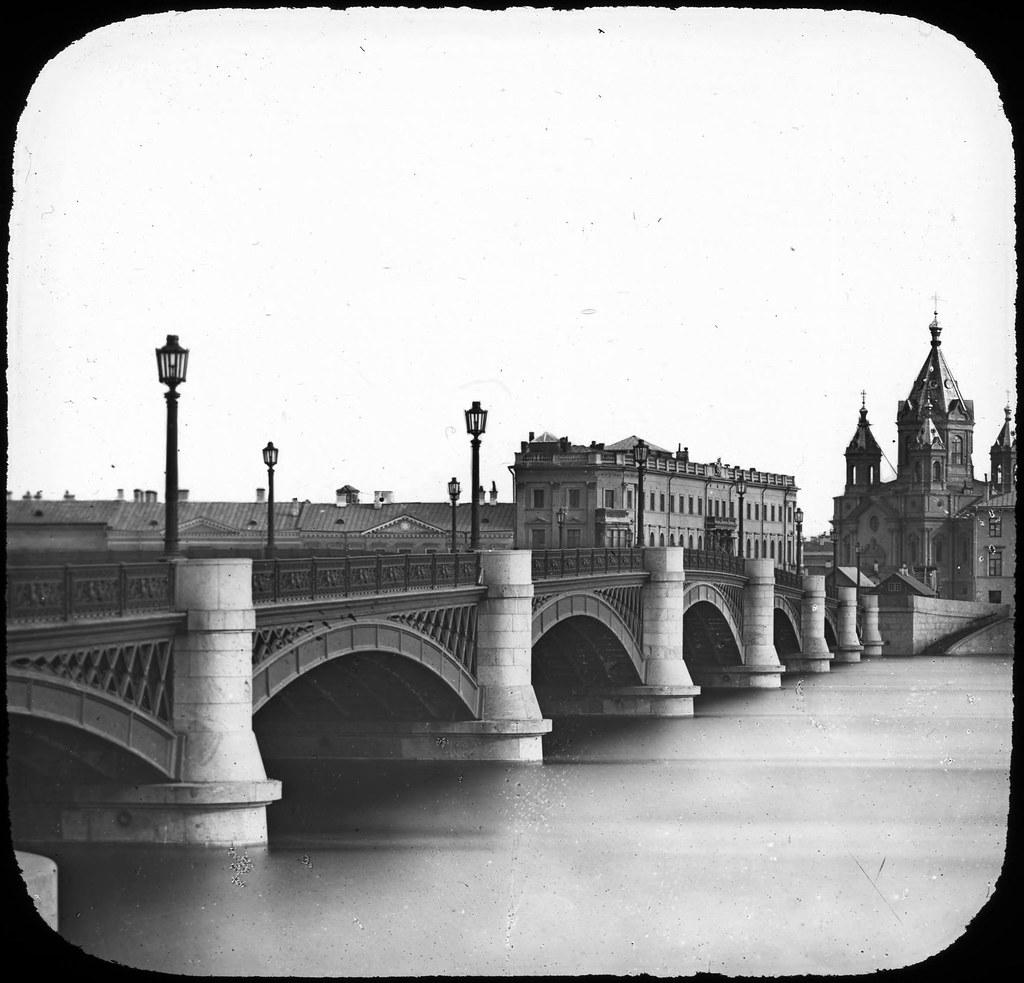 Николаевский мост. 1850-е