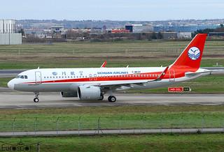 F-WWDX / B-321D Airbus A320-271N Sichuan Airlines s/n 10368 * Toulouse Blagnac 2021 *