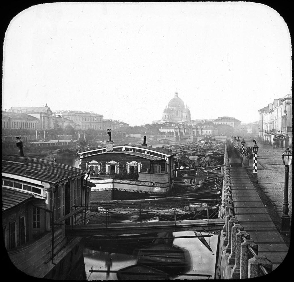 Фонтанка. 1850-е