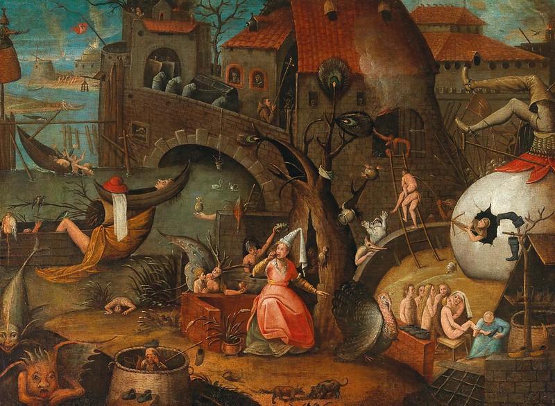 Follower of Pieter Brueghel the Elder - An Allegory of Envy