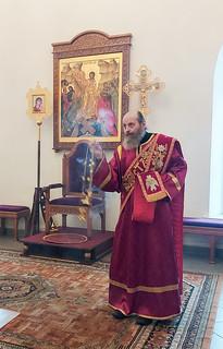 07.02.2021   Воскресная литургия в Юрьевом монастыре