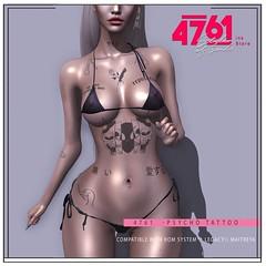 4761 - psycho tattoo