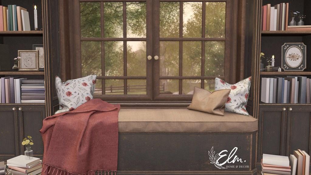 Elm. Emmaline Book Nook Ad