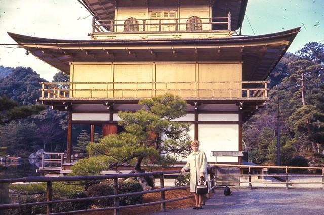 Found Ektachrome Slide -- Kinkaku-ji, Japan