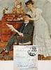 Feldpost von Elsa an ihren zukünftigen Mann Johann Pierre. Die Karte wurde ohne Briefmarke kostenlos befördert