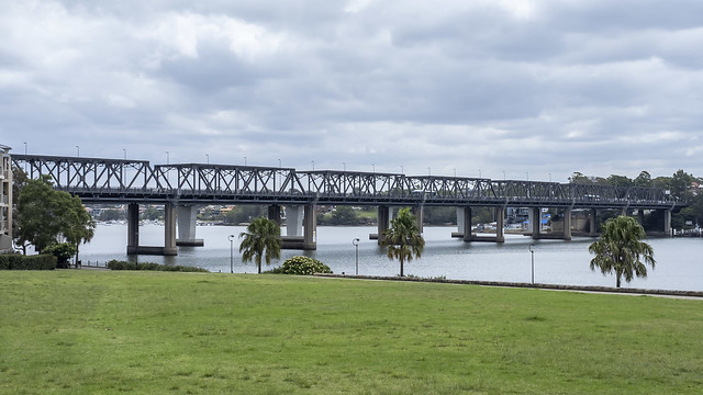 Iron Cove Bridge from Bridgewater Park, Rozelle-2