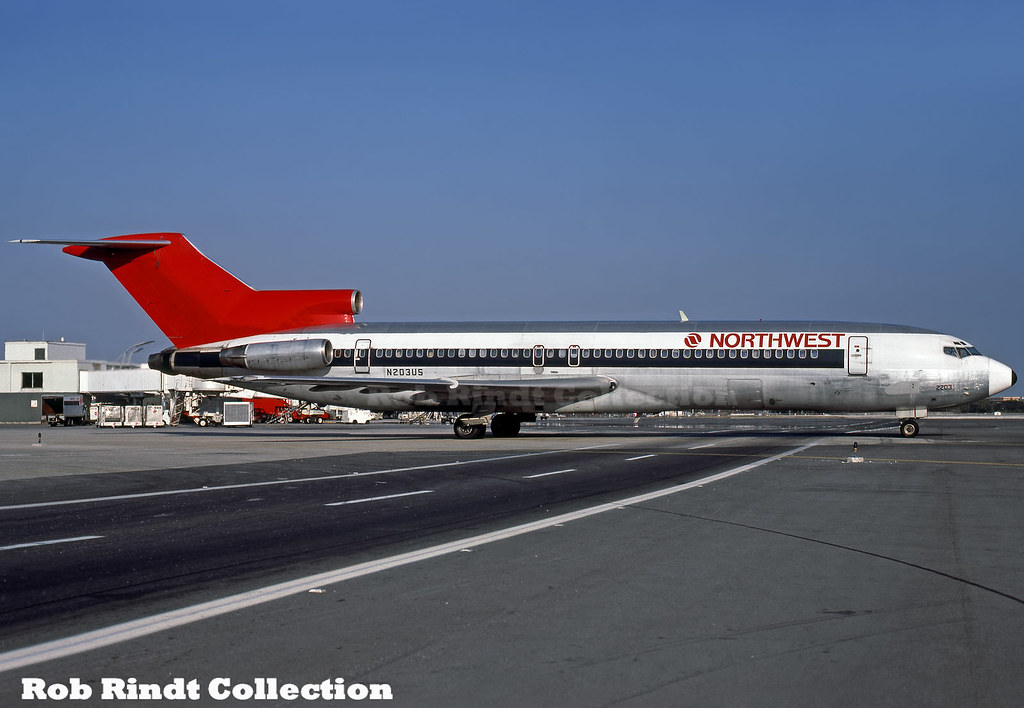 Northwest Airlines B727-251/Advanced N203US