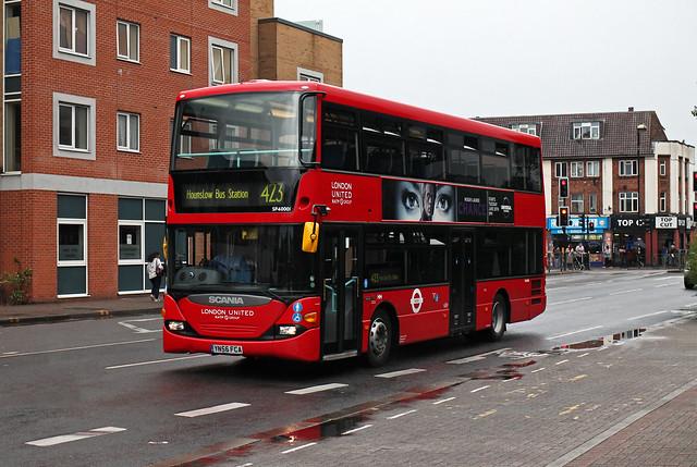 Route 423, London United, SP40001, YN56FCA