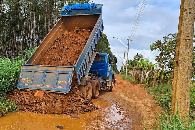 Escoamento da produção rural mais fácil em Brazlândia