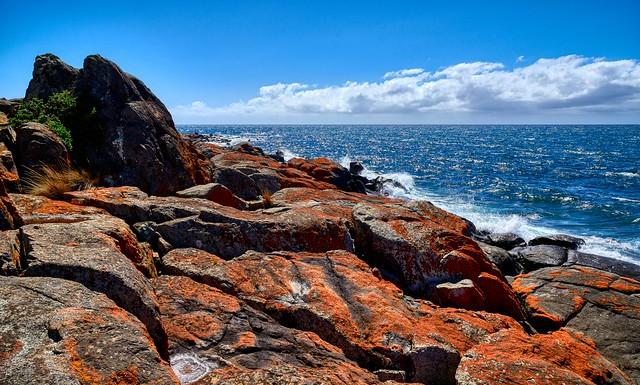 Rocks Meet the Ocean