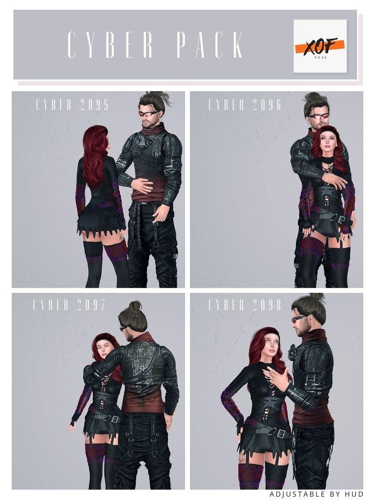 """Cyber """"couple"""" Posen"""