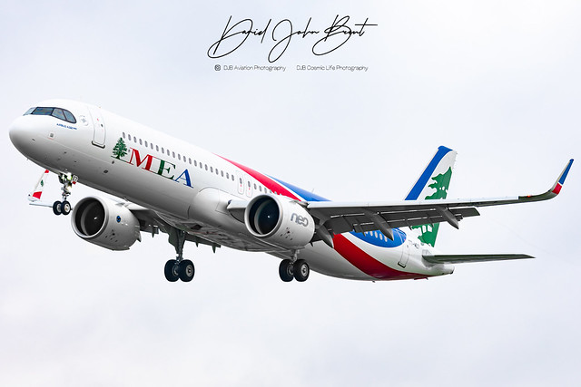 MEA • Airbus A321 • T7-ME7