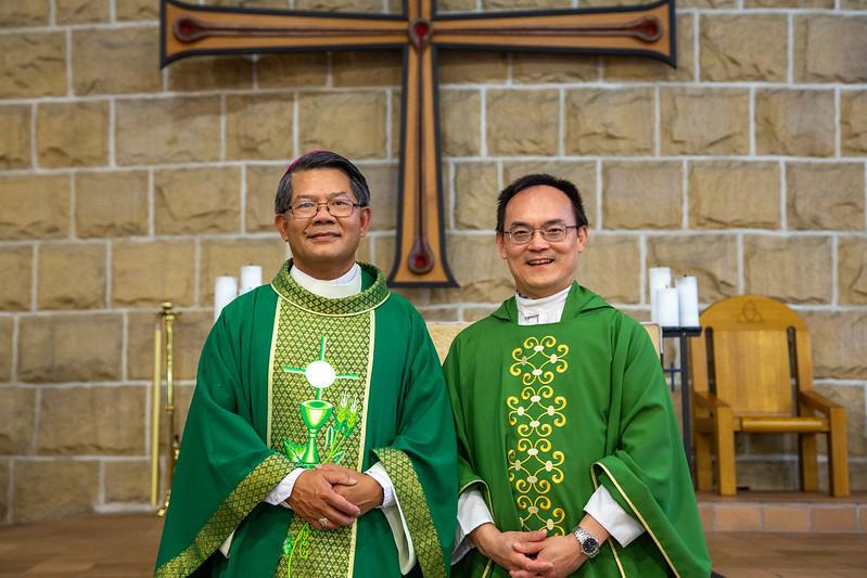 Fr Joseph Lam Installation Glenbrook (111 of 115)