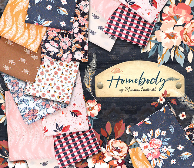 Art Gallery Fabrics Homebody Collection by Maureen Cracknell
