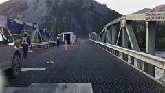 Ogilvie River Bridge Reenforcement Work