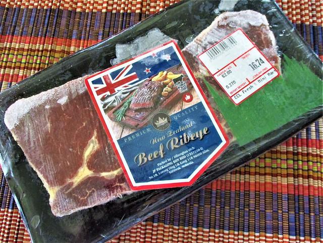 New Zealand ribeye beef