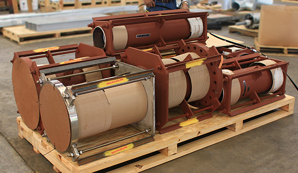 U.S. Bellows Custom-Designed Tied Universal Expansion Joints for Service at a Chemical Plant.