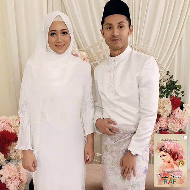 Luqman Hafidz, dan Sasqia Dahuri... pelakon utama Cinta Untuk Raf