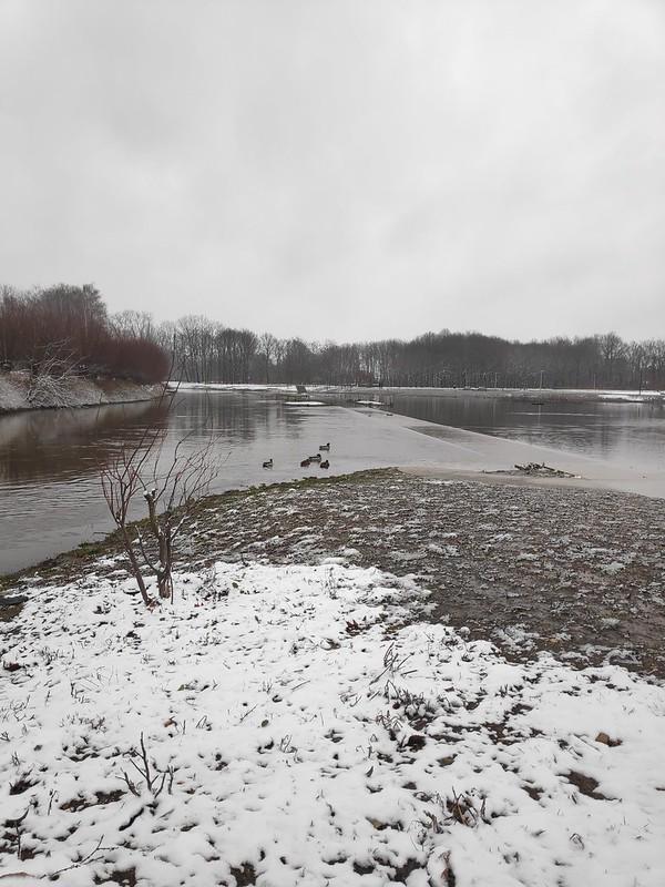 El estanque de Kapermolenpark