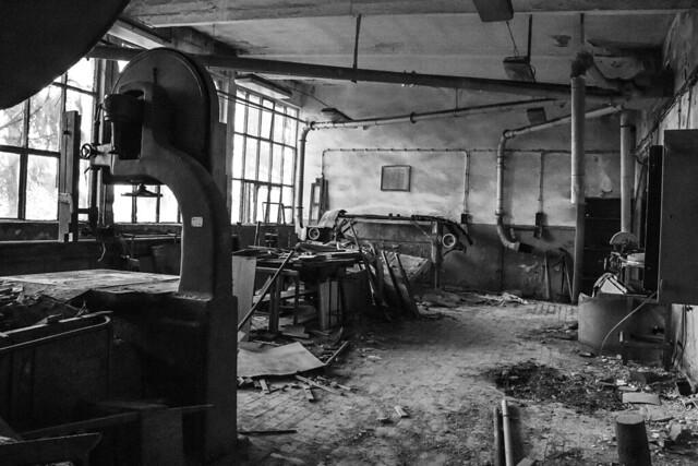 Abandoned factory, Bulgaria