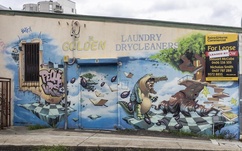 Lewisham - Street Art by Peque VRS 2014