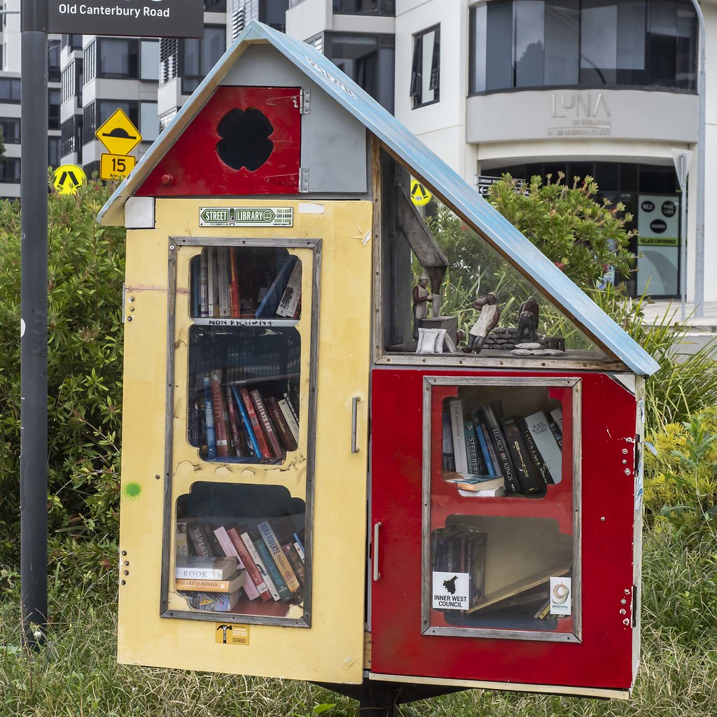 Lewisham - Street Library - Inner West Council