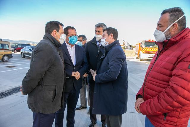 Inauguración del Parque de Bomberos 'Montes de Toledo'