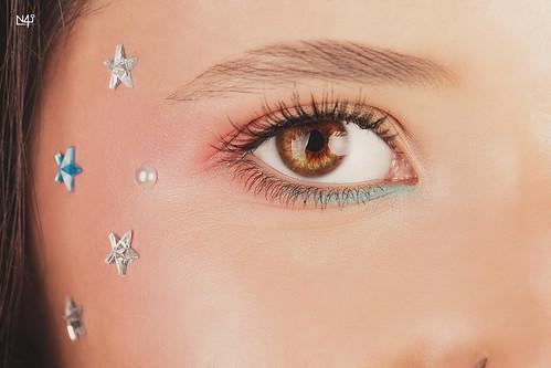 Starred eye