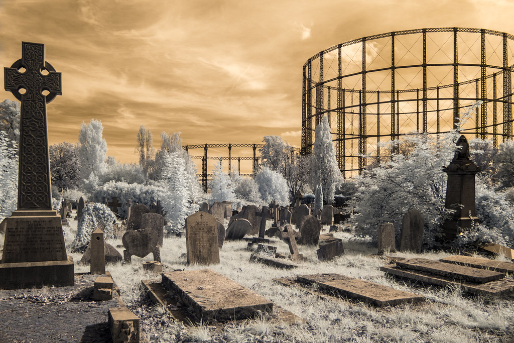 Dying Industry / Places of the Dead (Adventures in Infrared)