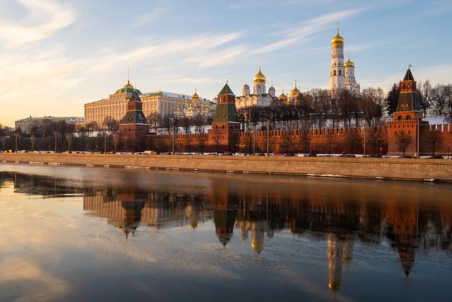 Evening Kremlin