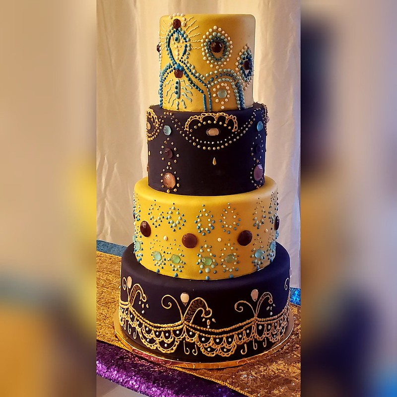 Cake by Yolie's Yummies
