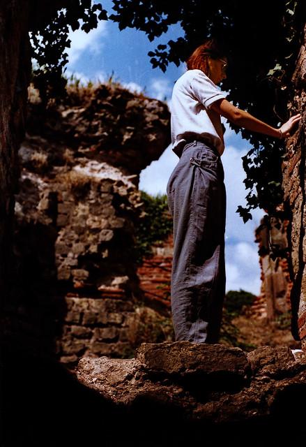 Trier 1987 (05) Kaiserthermen