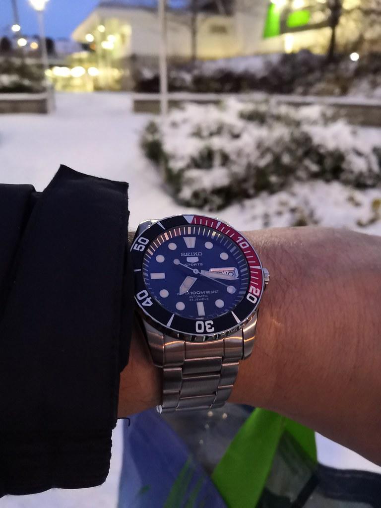 Seiko 5 Sport 'Sea Urchin' SNZF15K1 (Mod - Sapphire crystal & NH36A) a1