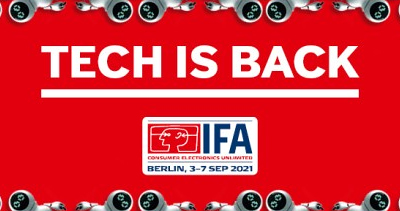 IFA 2021 will take place in Berlin, Germany from 3-7 September, 2021.