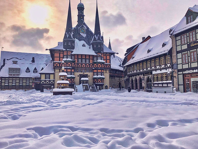 Wernigerode - Markt und Rathaus