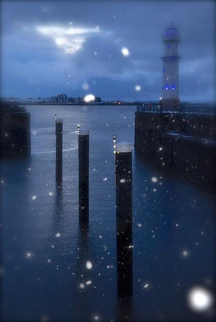 Harbour Snowfall