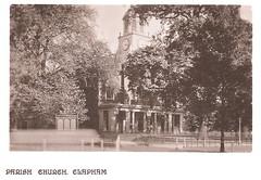 London - Clapham Parish Church Prior to 1907
