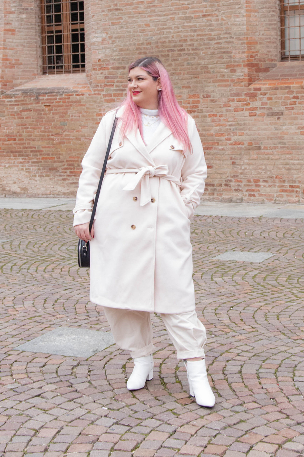 outfit curvy plus size total  white (6)