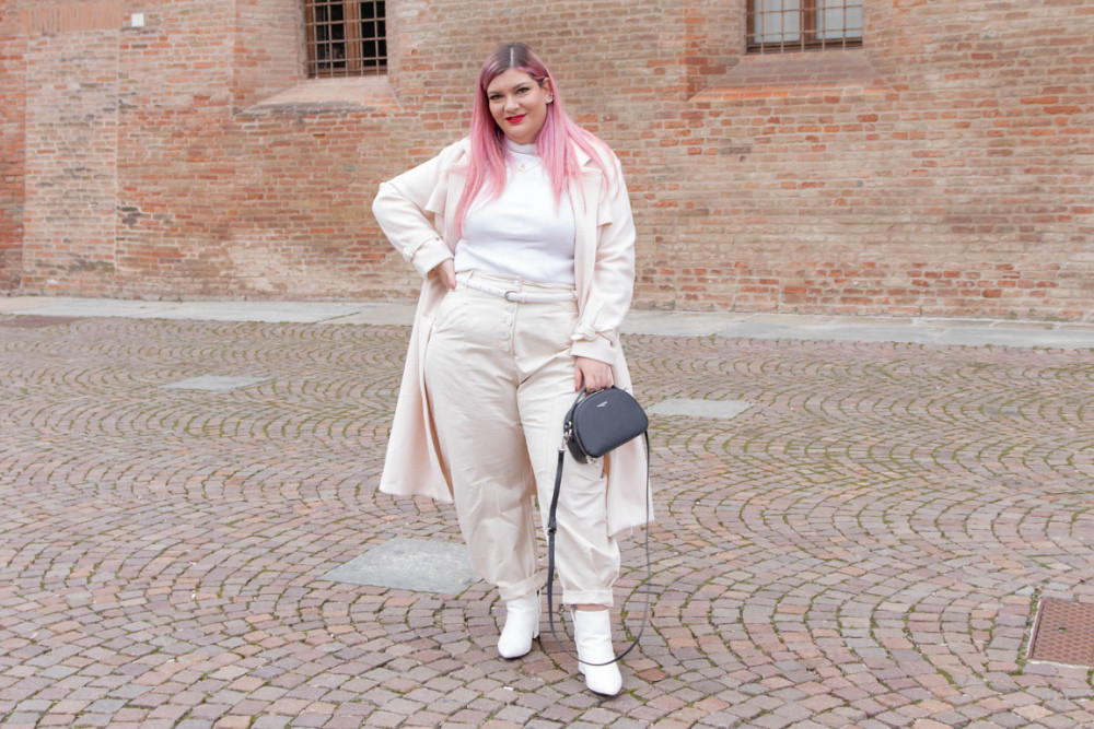 outfit curvy plus size total  white (2)