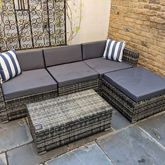 It's the right time of year to buy some patio furniture