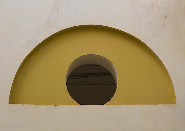 Ventilation of an italian colonial house, Cyrenaica, Benghazi, Libya